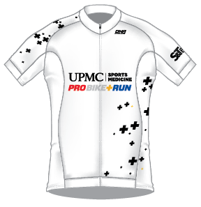 UPMC White Race Jersey