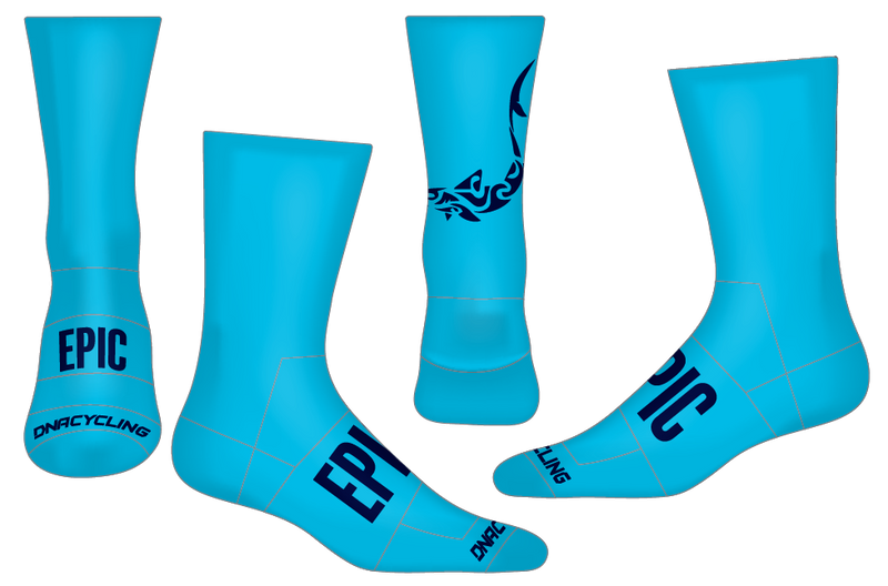 "Epic 6"" Performance Sock - SOCK DOPING ""limited quantities"""