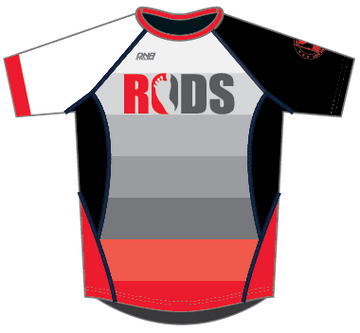 RODS Running Shirt - STRIPES
