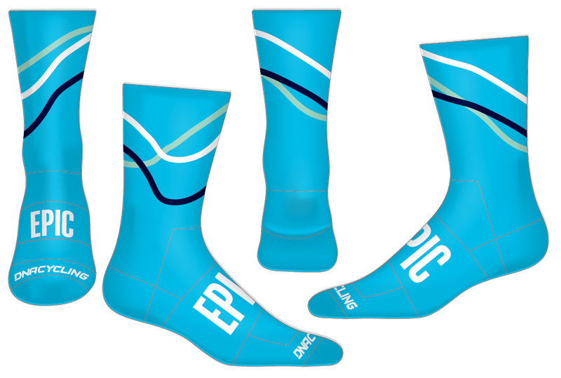 "Epic 6"" Performance Sock - Velo ""limited quantities"""