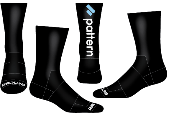 "Pattern 6"" Performance Sock"