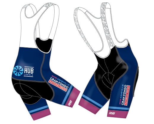 GFNS Asheville Race Bib Short