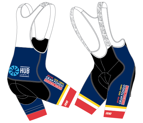 GFNS Golden Race Bib Short
