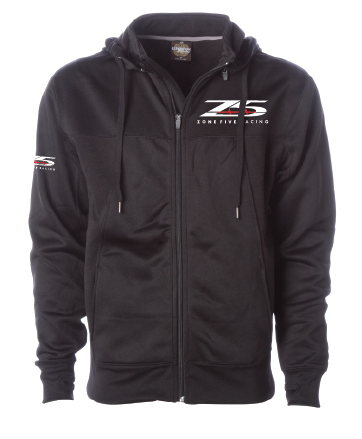 Zone 5 Poly- Tech Zip Up Hoodie