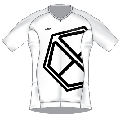 Bicycle Friends 2020 Race Day Jersey - WHITE/BLACK
