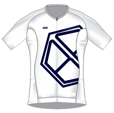 Bicycle Friends 2020 Race Day Jersey - WHITE/NAVY