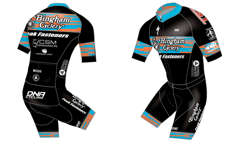 Bingham Cyclery Solo S/S Skin Suit