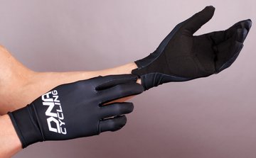 DNA ELITE LONG FINGER SUMMER GLOVE- Black