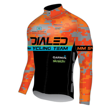 Dialed Cycling Lightweight Long Sleeve Jersey