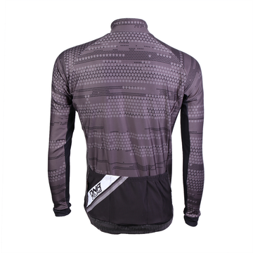Morse Code Grey Drop Seat Jacket
