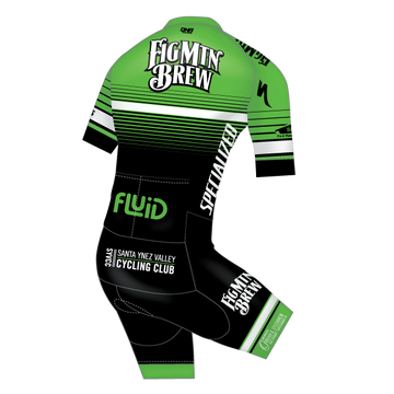 Fig Race Team Short Sleeve Solo Suit