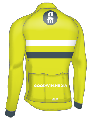 GOODWIN MEDIA SPRING WEIGHT L/S JERSEY - FLUO