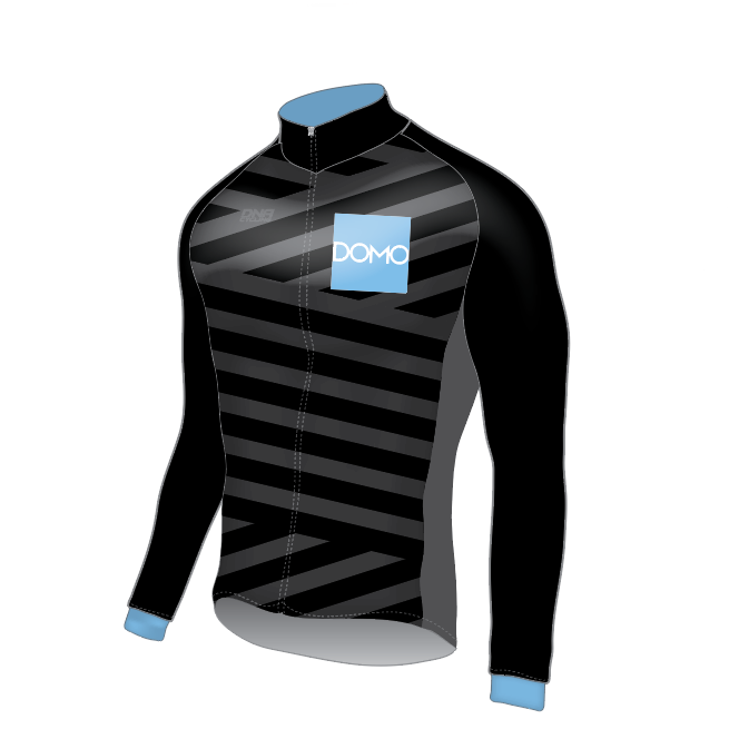 DOMO Thermal Long Sleeve Jersey - BLACK