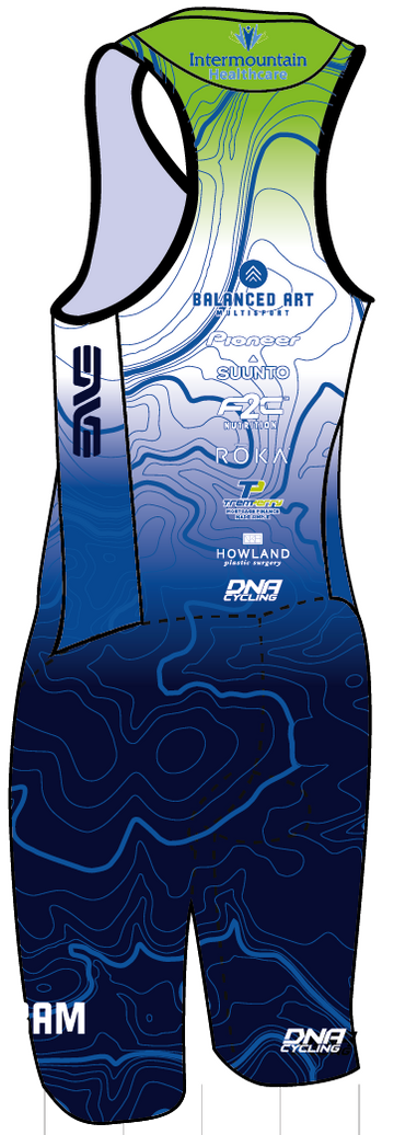 Intermountain Tri Men's Sleeveless Suit