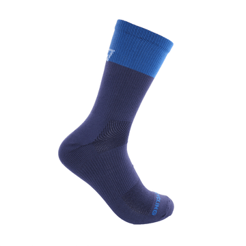 "6"" Performance Sock- Blue Duo"
