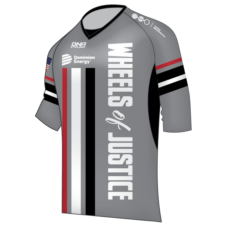 Wheels of Justice Freeride V-Neck Jersey