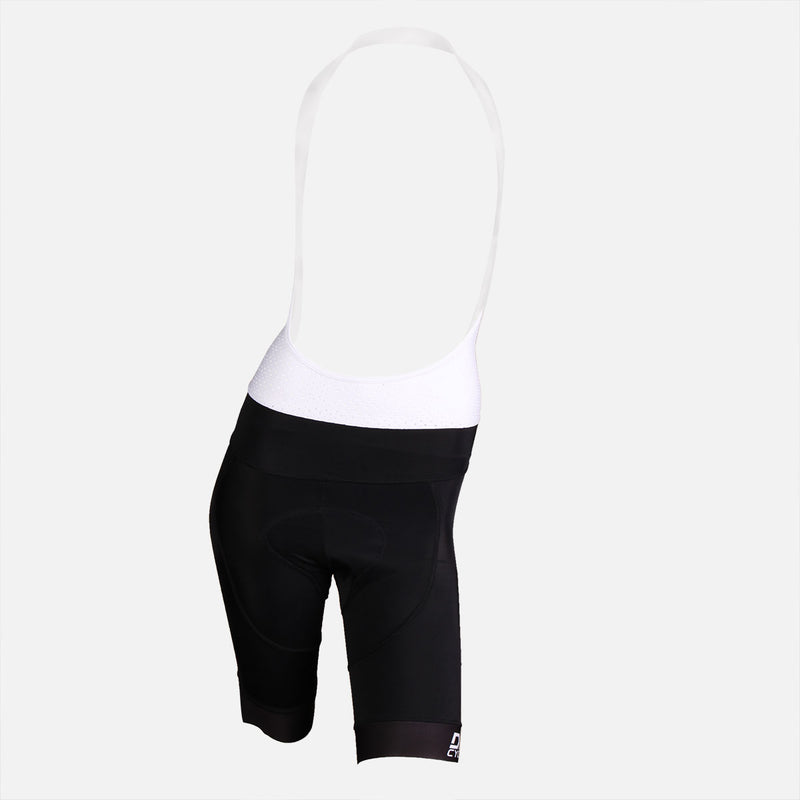 Ladies Bib Short Black