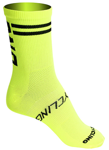 "DNA 5"" Yellow Summer Sock"