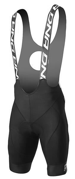 2017 DNA Black Elite Bib Shorts