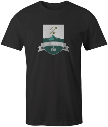 MTB Enthusiasts of Utah Crest Tee