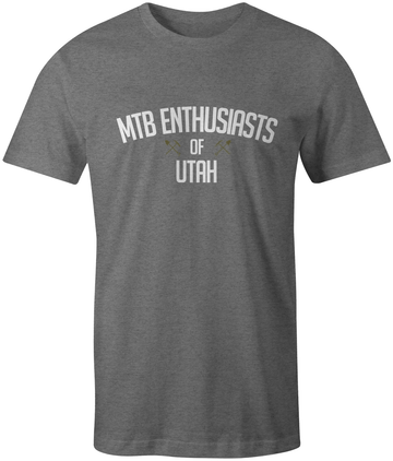 MTB Enthusiasts of Utah Logo Tee