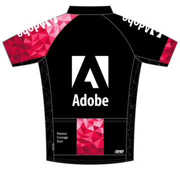 2017 Adobe Men's Short Sleeve Century Jersey