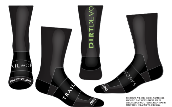 "Trailworks 6"" Performance Sock"