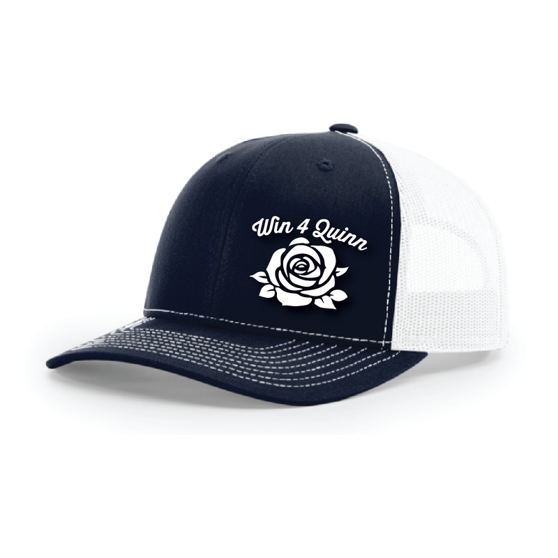 Win4quinn Trucker Hat - NAVY