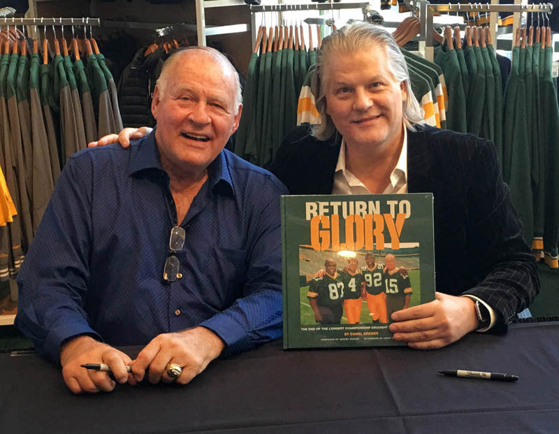 Packer Pro Shop Book Signing With Dad