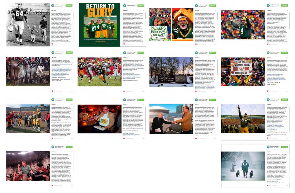 Return To Glory featured on Smithsonian Magazine's Instagram Feed