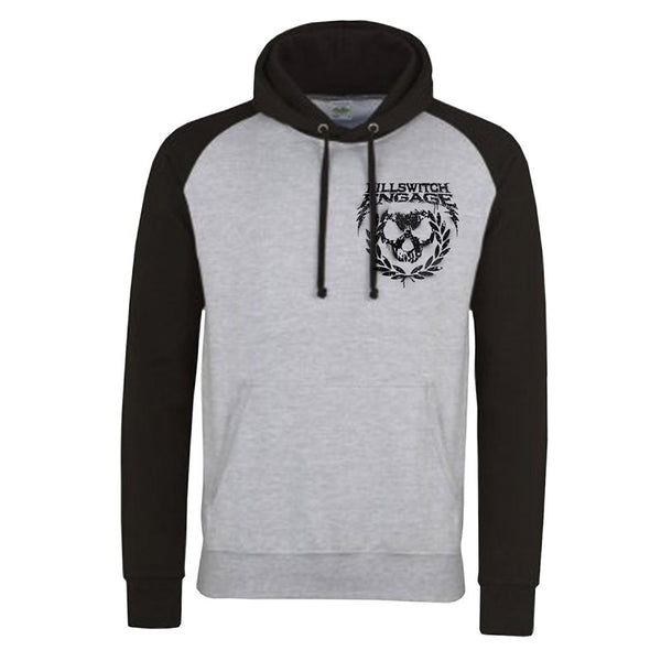 SPAY PAINT WREATH TWO TONE HOODY GREY