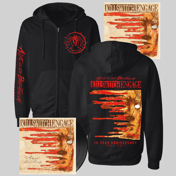 Alive Or Just Breathing Hoody Bundle