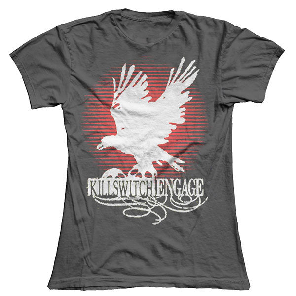 Charcoal Birds Girls T-Shirt