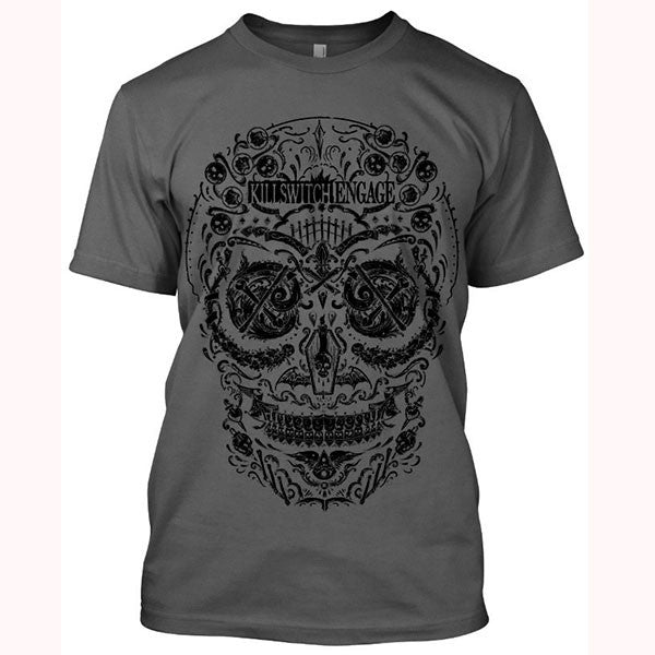 Charcoal Day Of The Dead T-Shirt