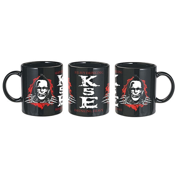 Black Heavy Drinking Mug