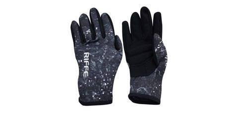 Vortex© Black Amara / Camo Neoprene Gloves