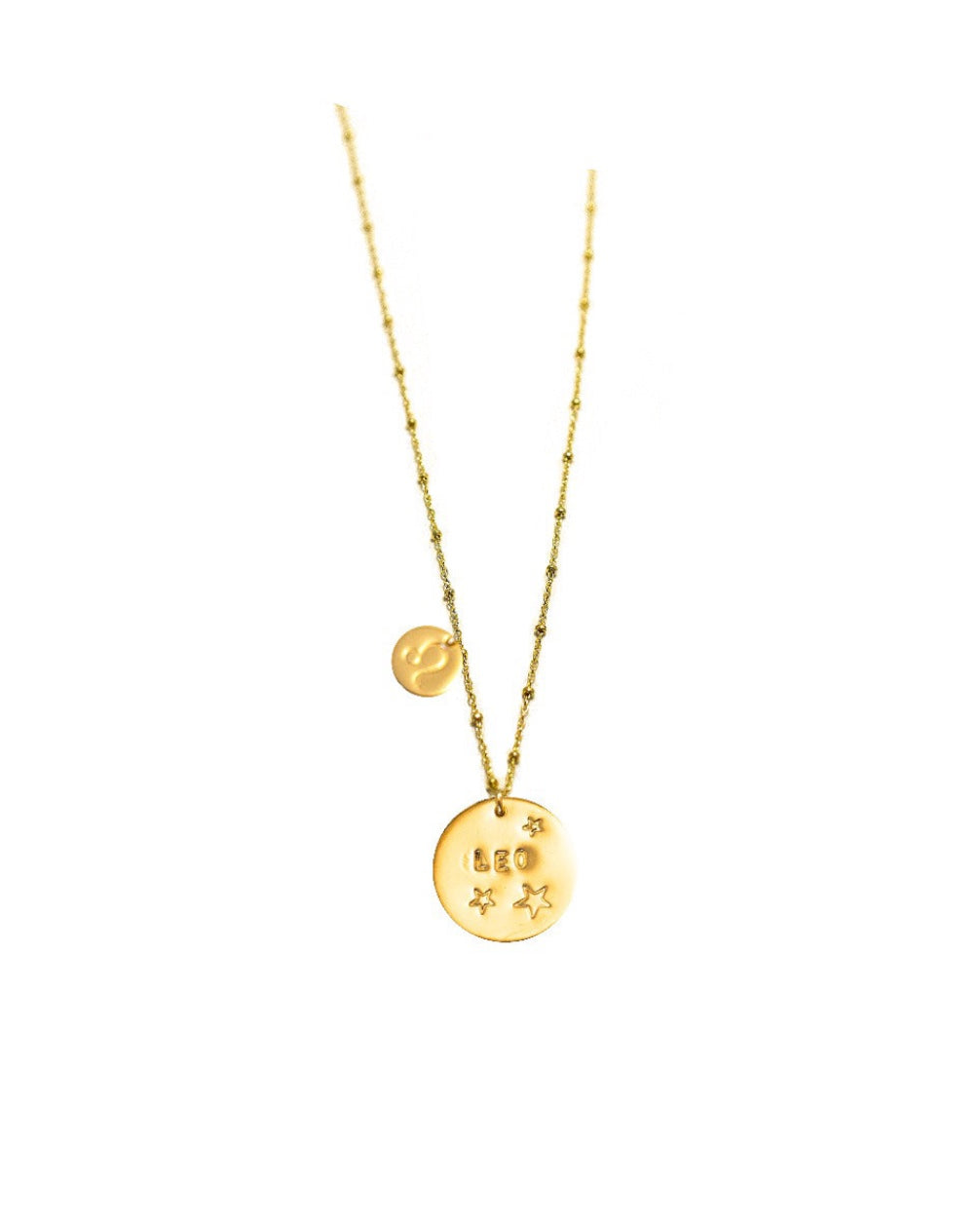 Leo Coin Necklace