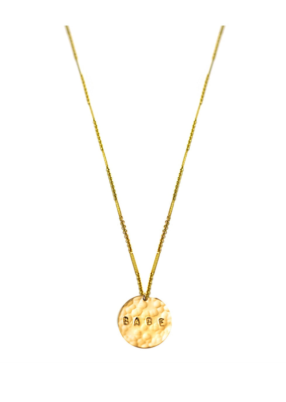 Babe Coin Necklace