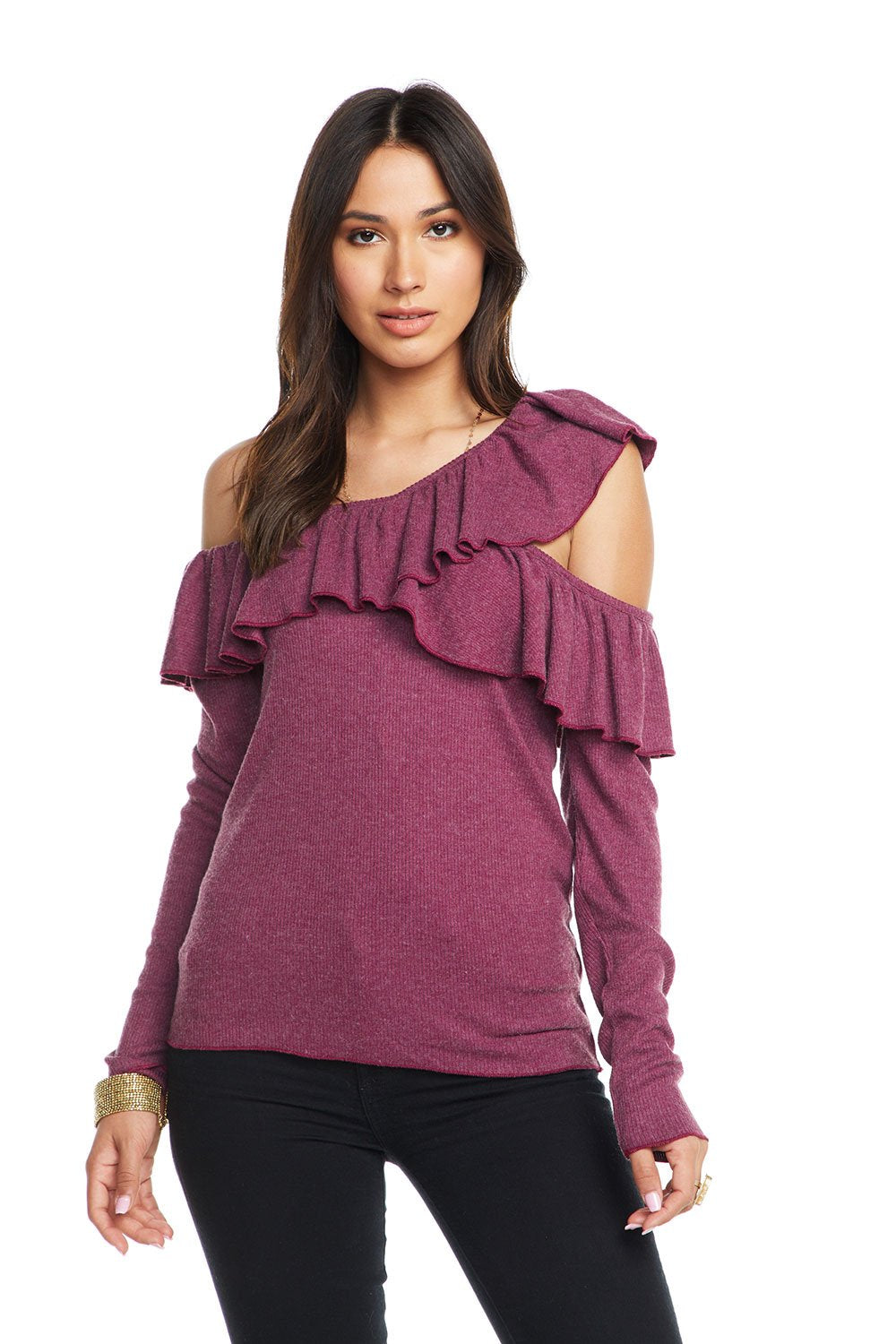 Love One Shoulder L/S Top