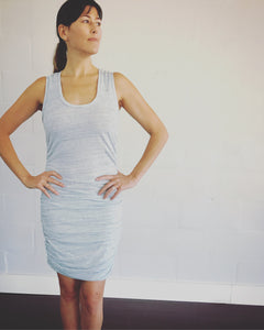 Runched Tank Dress