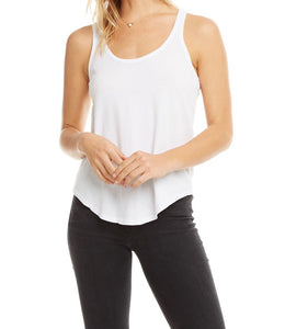 Basic Racerback Shirtail Tank