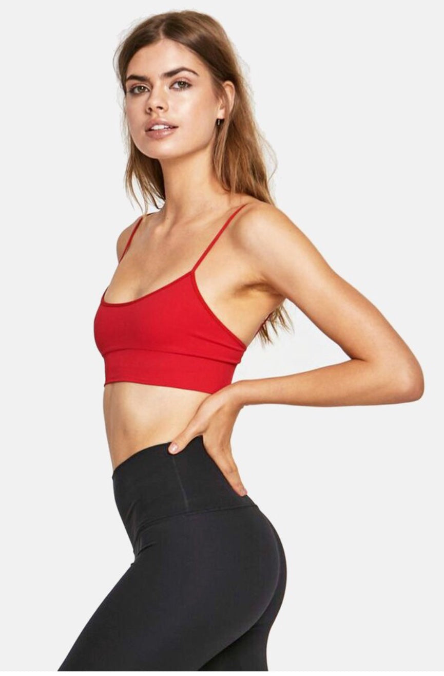 Seamless Scoop Bra