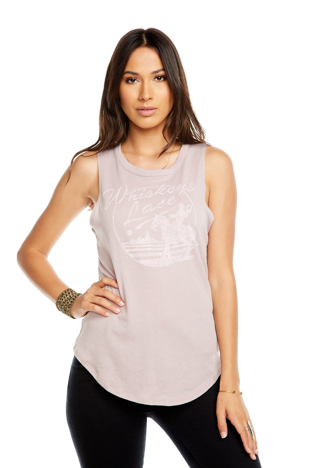 Whiskey and Lace Muscle Tank