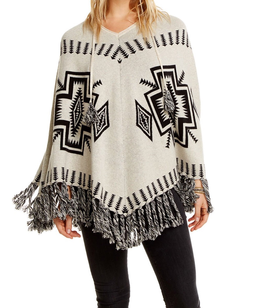 Trading Blanket Sweater Poncho