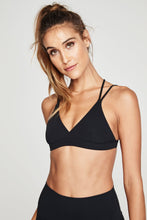 Black Triangle Bra
