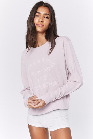 Dreaming Crop Crew Sweatshirt