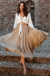 Grace Tulle Maxi Skirt