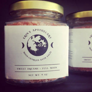Moon-Charged Bath Salts