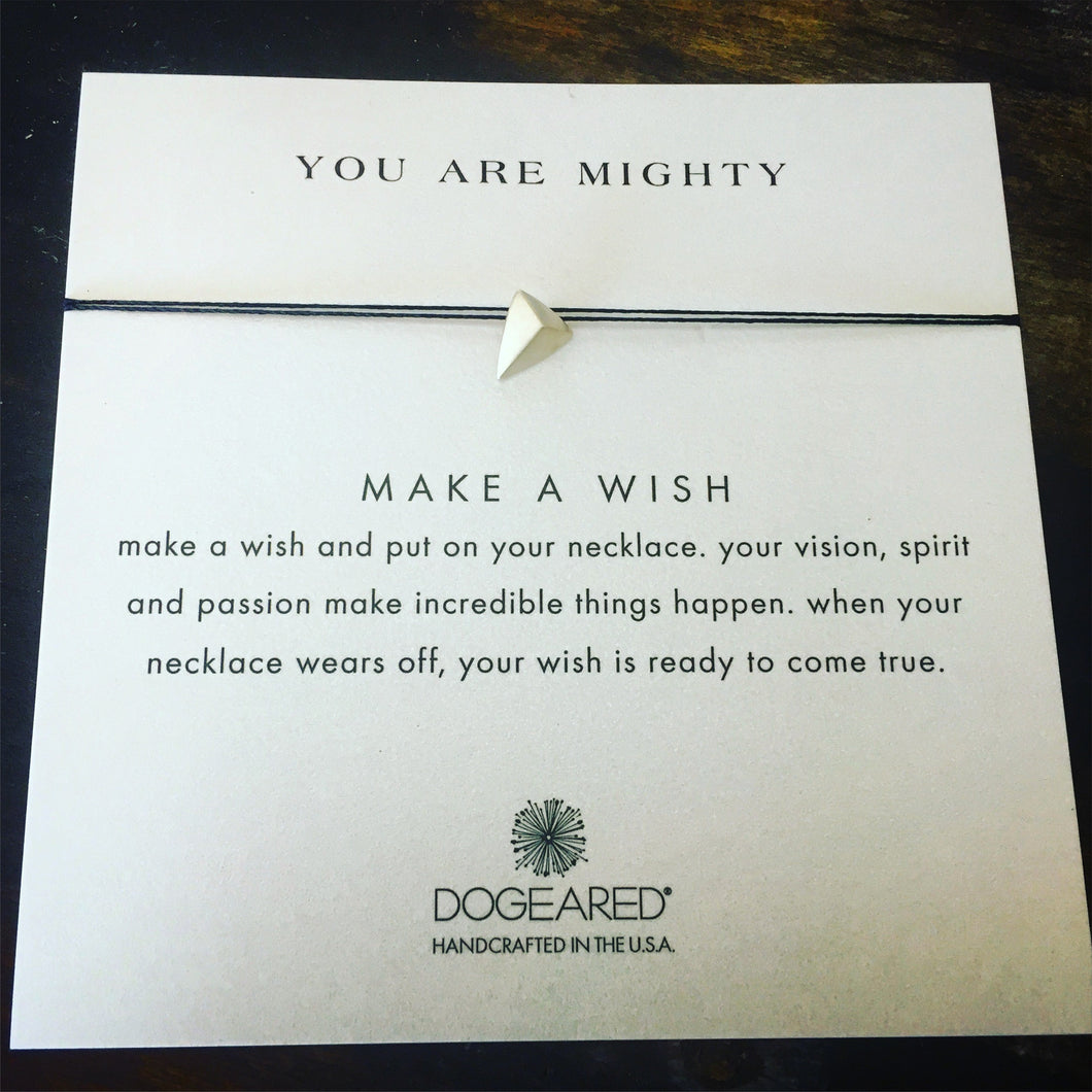 You Are Mighty Wish Necklace