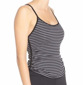 Free People Grey Striped Cami